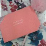 MOCO-ピンク-招待状アレンジ  【K・I様よりの作品】
