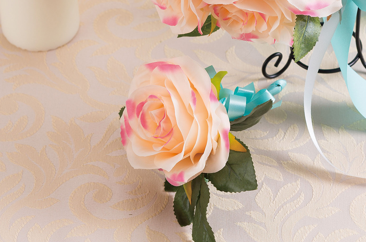Silk bouquet Pastel pinkシルクブーケ パステルピンク