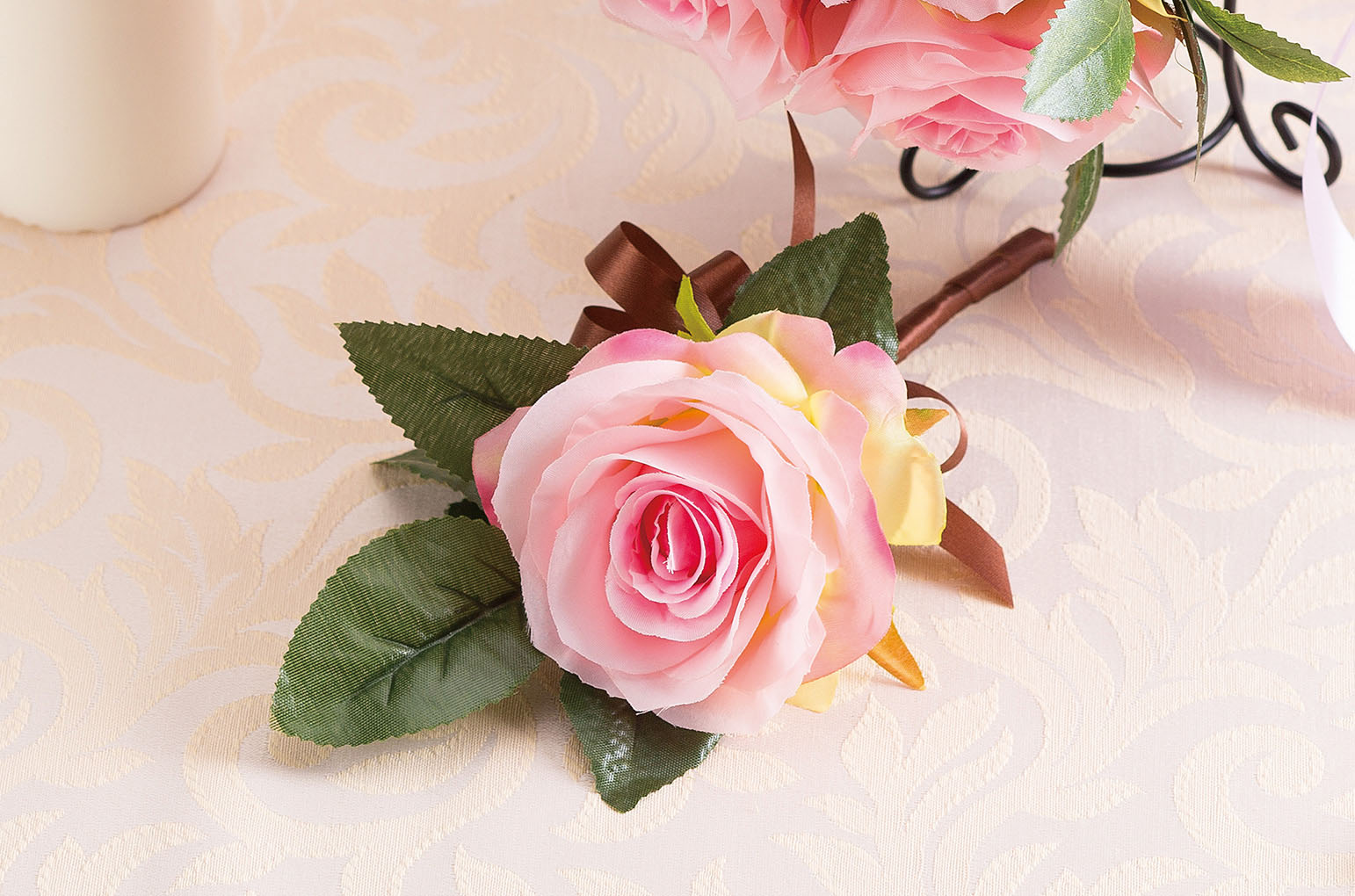 Silk bouquet Suger pinkシルクブーケ シュガーピンク