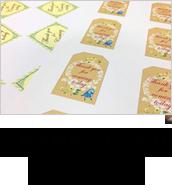 a5b7666b2e99 TEMPLATE デザインテンプレート; INITIAL LOGO イニシャルロゴ; THANKS CARD サンクスカード ...